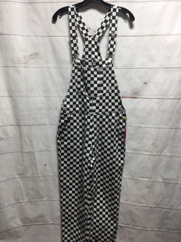 product details: DEADSTOCK CHECKERED UNIF OVERALLS NWT photo