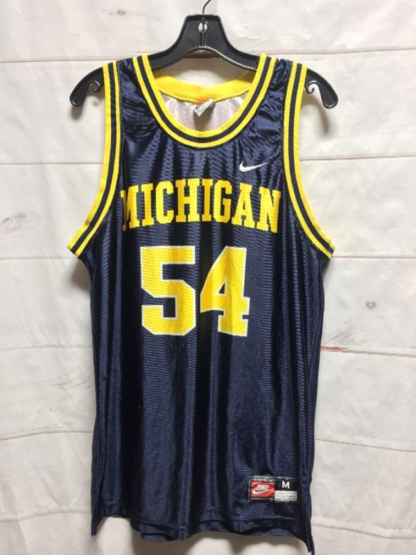 product details: MICHIGAN STATE COLLEGE BASKETBALL JERSEY #54 photo