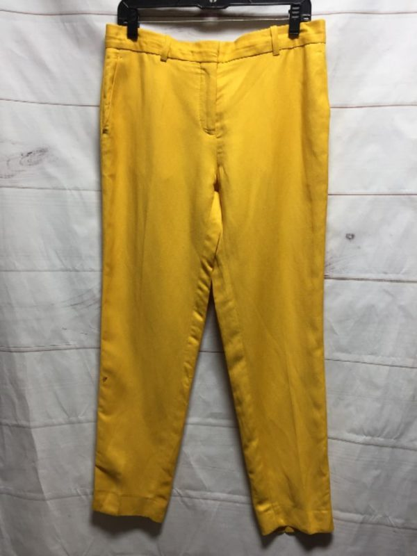 product details: MUSTARD YELLOW CLASSIC TROUSER SLACKS photo