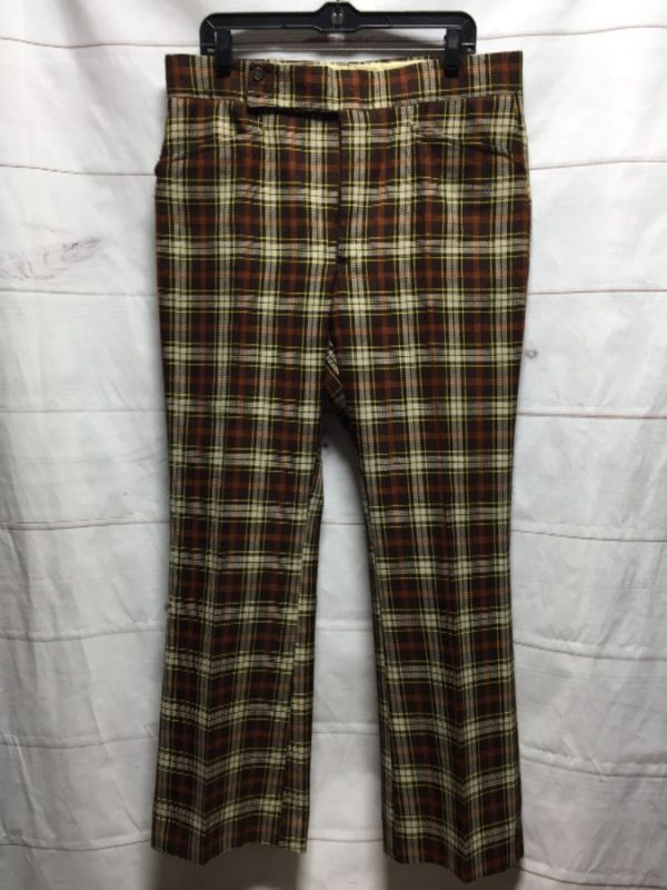 product details: RAD FUNKY 1970S GOLF TROUSER PANTS photo