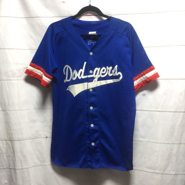 product details: OLD SCHOOL DODGERS SPORTS JERSEY MCH #68 photo