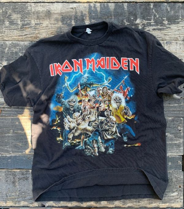 product details: IRON MAIDEN GRAPHIC T-SHIRT photo