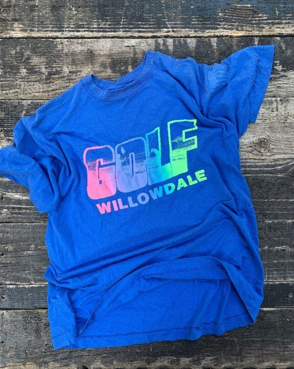 product details: GOLF WILLOWDALE NEON PUFF INK GRAPHIC T-SHIRT photo