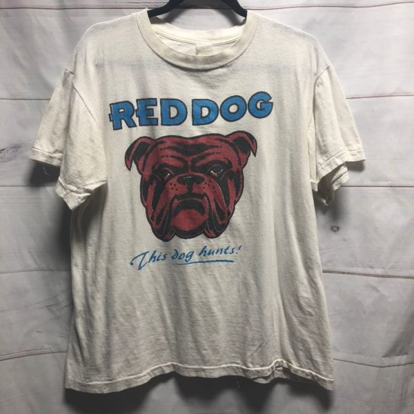 product details: 1980S RED DOG GRAPHIC T-SHIRT photo