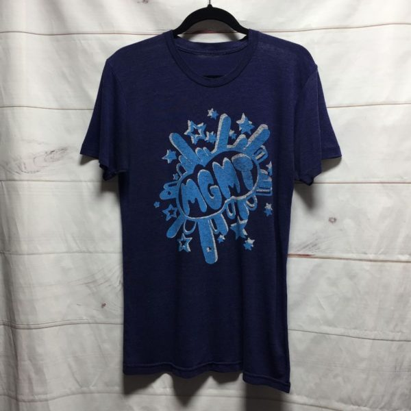 product details: MGMT SUPER THIN BURNOUT BAND TEE photo