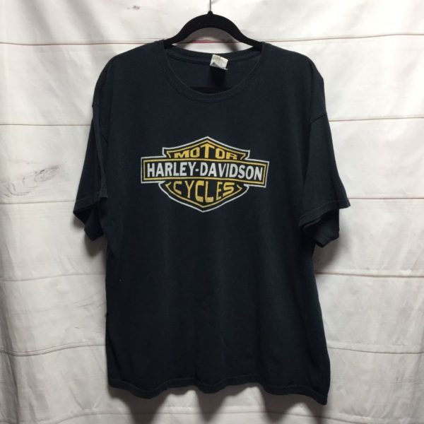 product details: HARLEY DAVIDSON CLASSIC LOGO PRINT 100% COTTON T - SHIRT photo