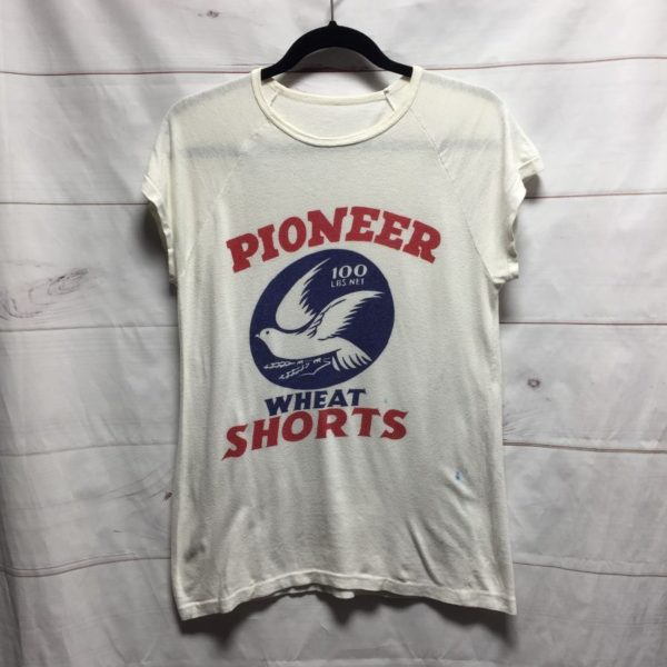 product details: RETRO PIONEER WHEAT SHORTS TOP - AS IS photo