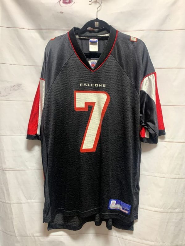 product details: NFL ATLANTA FALCONS FOOTBALL JERSEY #7 VICK photo