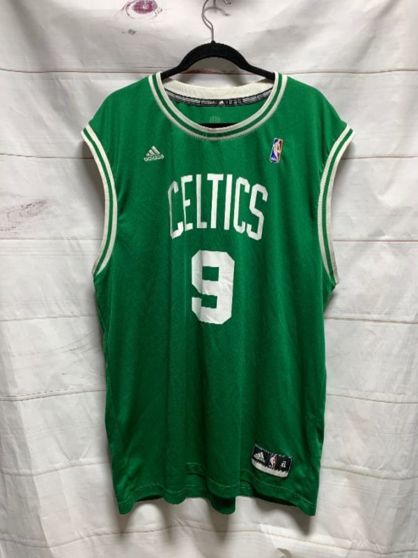 product details: NBA BOSTON CELTICS BASKETBALL JERSEY #9 RONDO photo