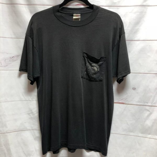 product details: DISTRESSED TSHIRT POCKET TEE THE CONVERTER COMPANY WOODBURY, NJ - AS IS photo