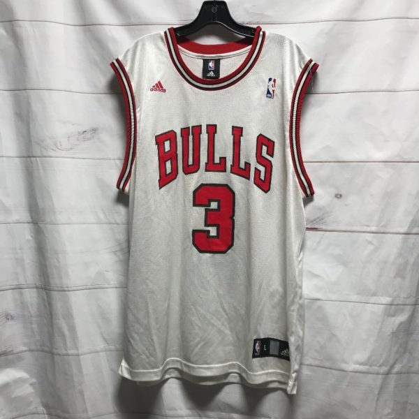 product details: NBA CHICAGO BULLS #3 WALLACE BASKETBALL JERSEY photo