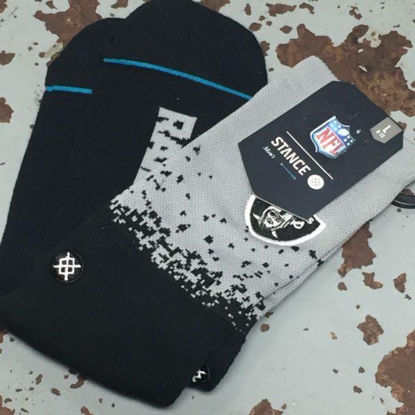 product details: NFL RAIDERS X STANCE SOCKS NWT photo