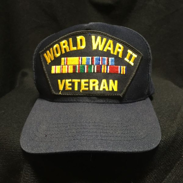 product details: WORLD WAR II VETERAN EMBROIDERED HAT photo