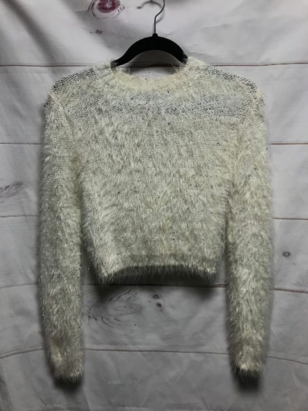 product details: FUZZY VISCOSE SWEATER - AS IS photo