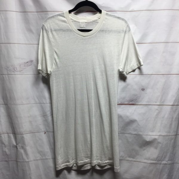 product details: DISTRESSED SOFTY BLANK COTTON TEE #PERFECT - AS IS photo