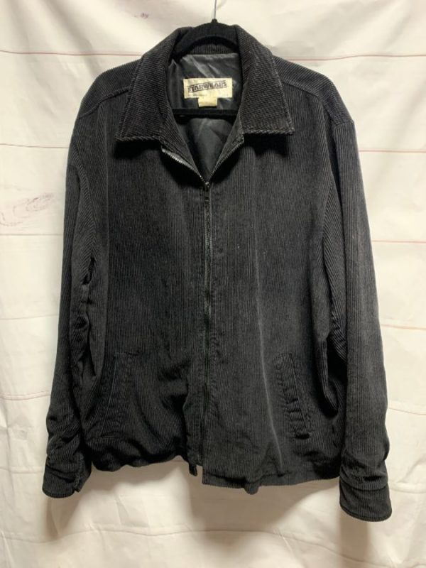 product details: OVERSIZED CORDUROY ZIP UP JACKET photo
