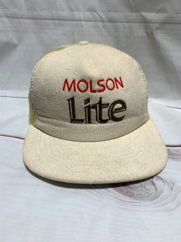 product details: MOLSON LITE CORDUROY SNAP BACK HAT photo