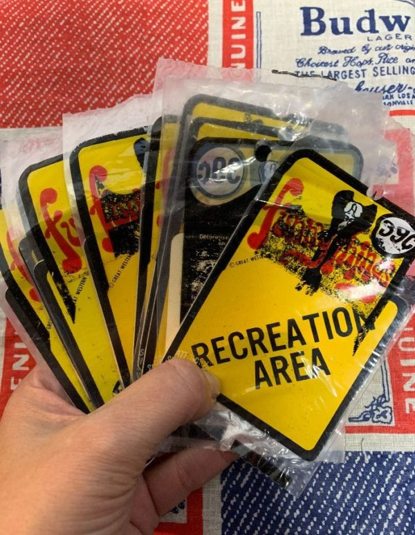 product details: RECREATION AREA VINTAGE NOS STICKER NEW IN PACKAGE AS-IS photo