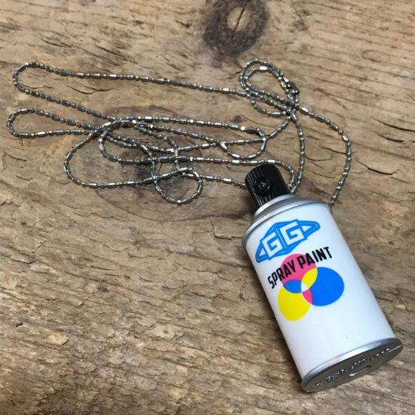 product details: MINI KRYLON SPRAY PAINT CAN NECKLACE photo