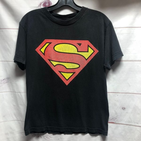 product details: SUPERMAN DISTRESSED INK GRAPHIC TSHIRT - AS IS photo