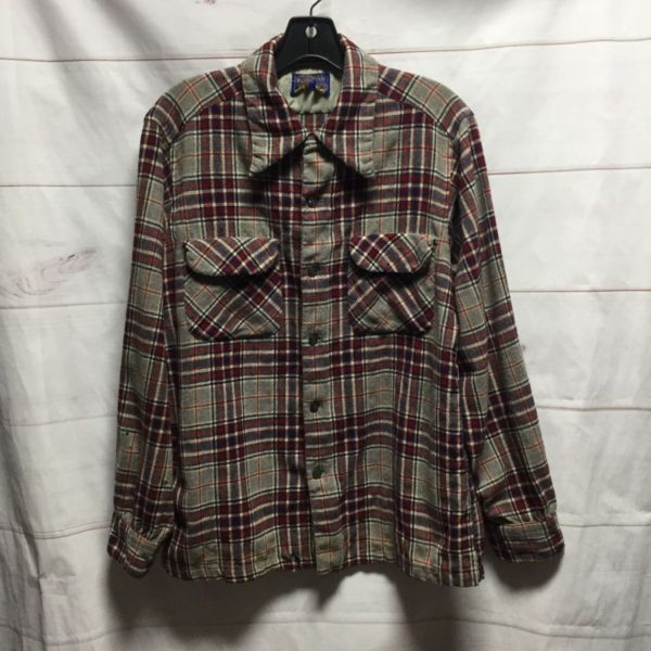 product details: LONG SLEEVE PENDLETON BUTTON UP SHIRT - AS IS photo