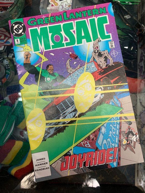 product details: GREEN LANTERN MOSAIC COMIC BOOK photo