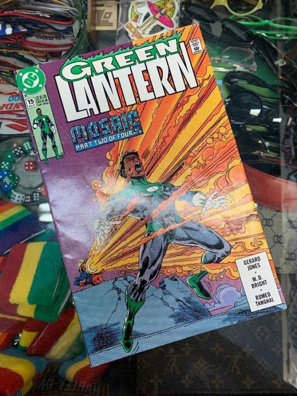 product details: GREEN LANTERN MOSAIC PART TWO OF FOUR COMIC BOOK photo