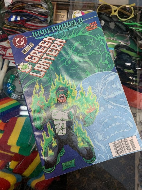product details: GREEN LANTERN DC COMIC BOOK  AS-IS photo