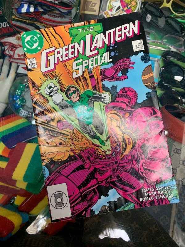 product details: THE GREEN LANTERN SPECIAL COMIC BOOK photo