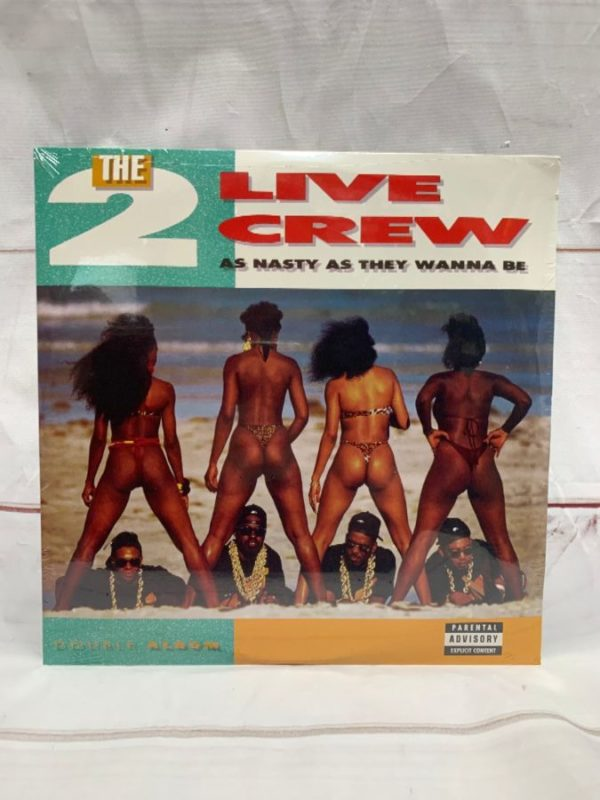 product details: BW VINYL THE 2 LIVE CREW - AS NASTY AS THEY WANNA BE photo