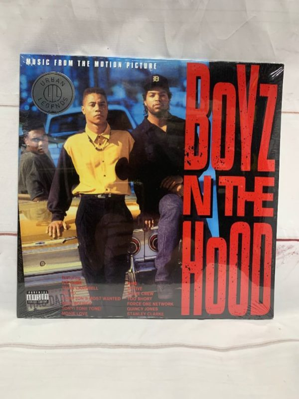 product details: BW VINYL BOYZ IN THE HOOD ORIGINAL SOUNDTRACK photo