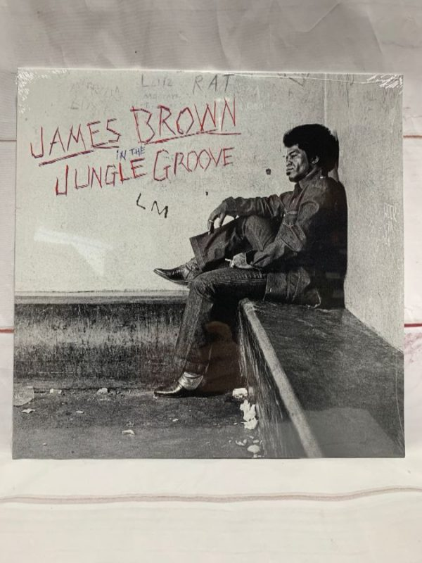 product details: BW VINYL JAMES BROWN - IN THE JUNGLE GROOVE photo