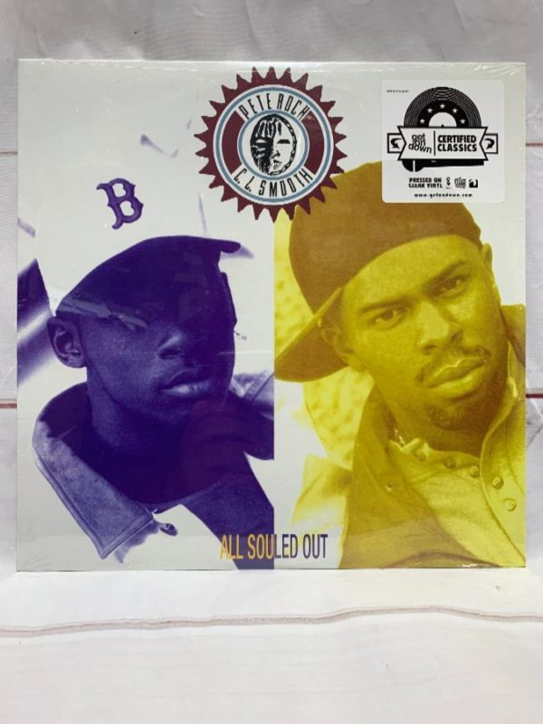 product details: BW VINYL PETE ROCK CL SMOOTH - ALL SOULED OUT photo