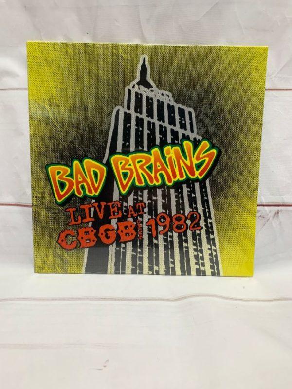 product details: BW VINYL BAD BRAINS - LIVE AT CBGB 1982 photo