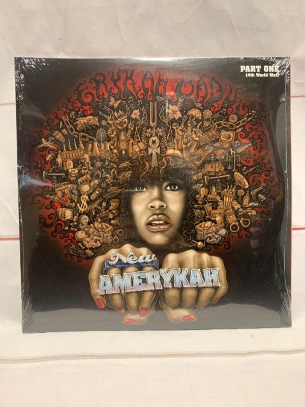 product details: BW VINYL - ERYKAH BADU - NEW AMERYKAH photo