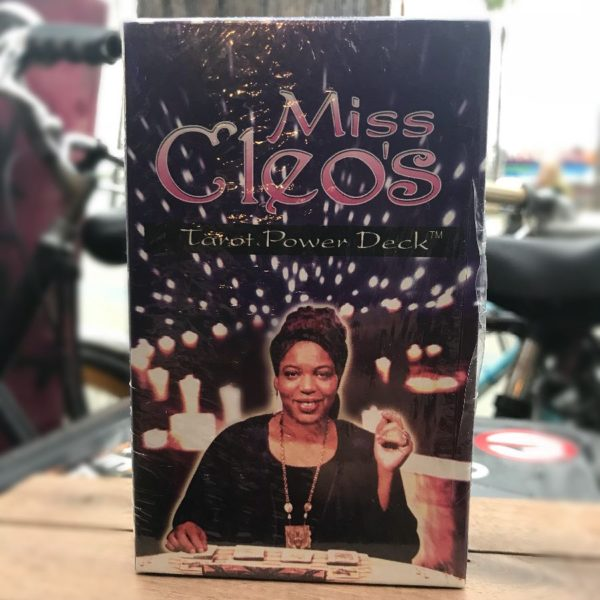 product details: MISS CLEOS TAROT POWER DECK 1990S DEADSTOCK photo