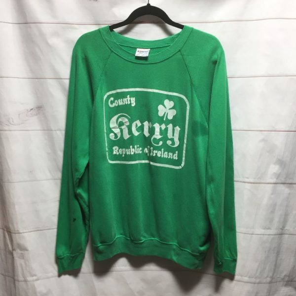 product details: COUNTY KERRY REPUBLIC OF IRELAND CREWNECK PULLOVER photo