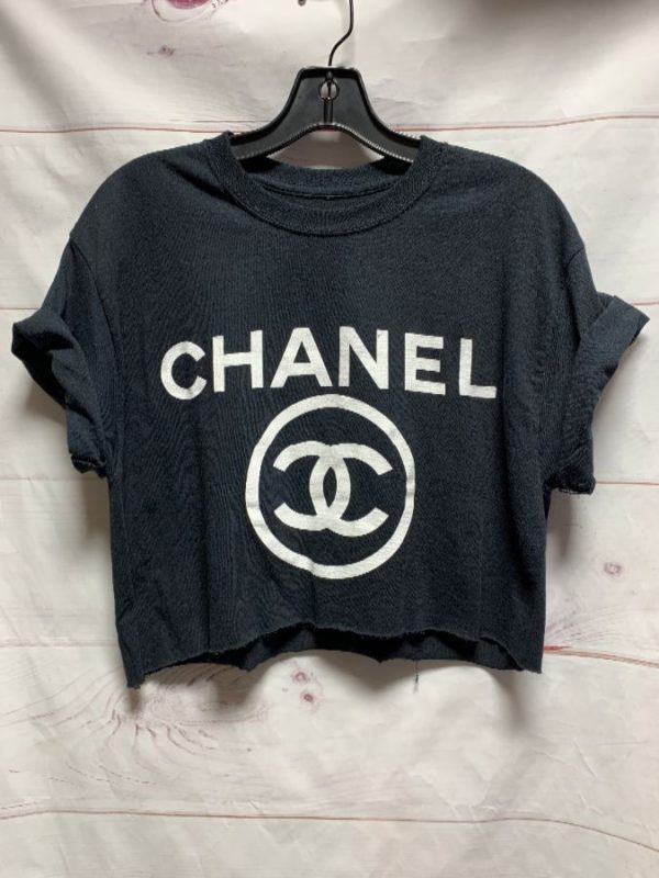 product details: CROPPED CHANEL TSHIRT photo