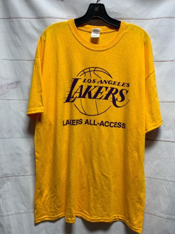 product details: LOS ANGELES LAKERS ALL-ACCESS 100% COTTON TSHIRT photo