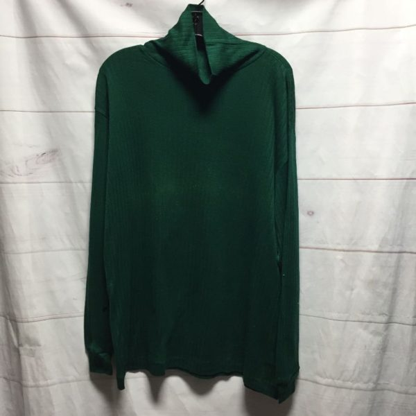 product details: DEADSTOCK RETRO LONG SLEEVE TURTLE NECK SHIRT - AS IS photo