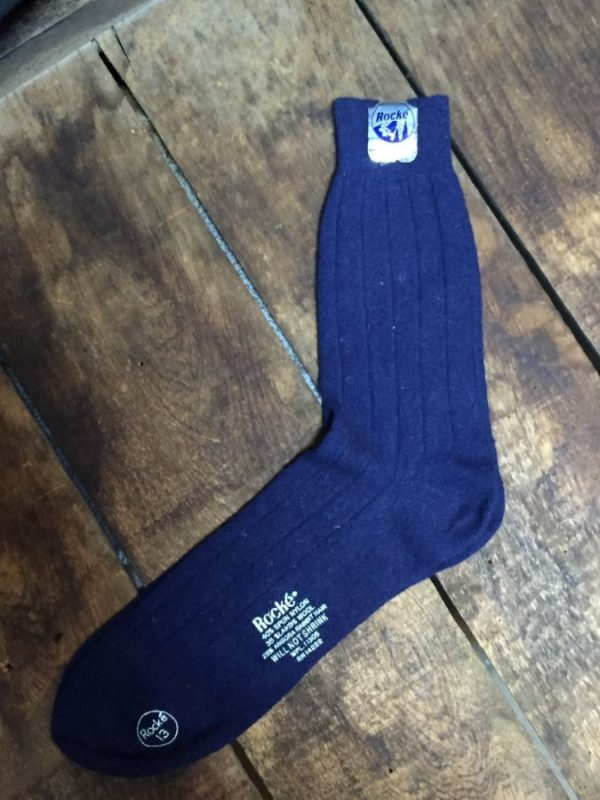 product details: VINTAGE DEADSTOCK SOCKS -  SPUN NYLON SOCKS photo