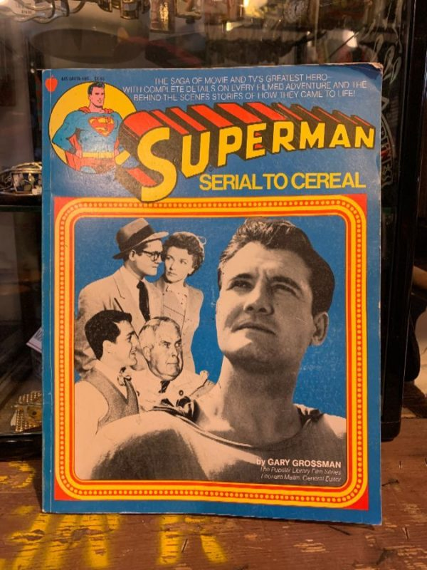 product details: AUTOGRAPHED SUPERMAN SERIAL TO CEREAL BOOK photo