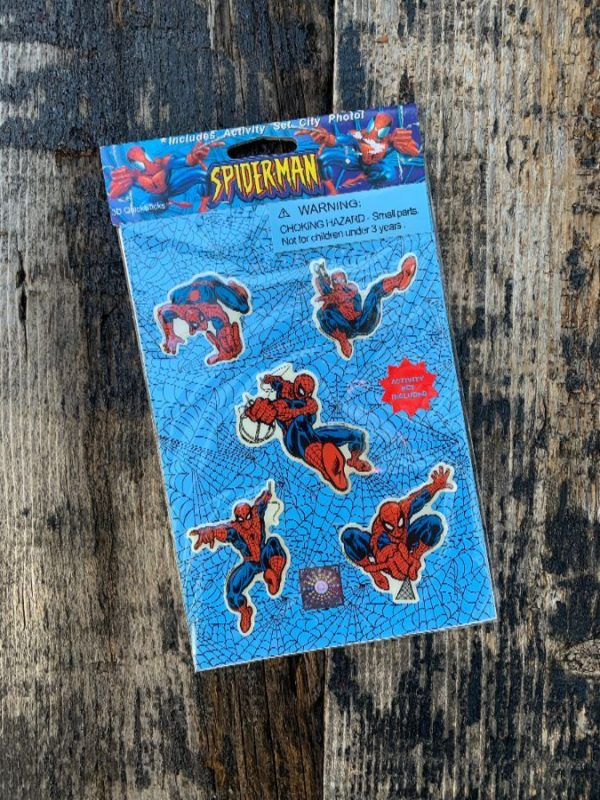 product details: SPIDERMAN ASSORTED PUFFY STICKER PACK W ACTIVITY SET INCLUDED photo