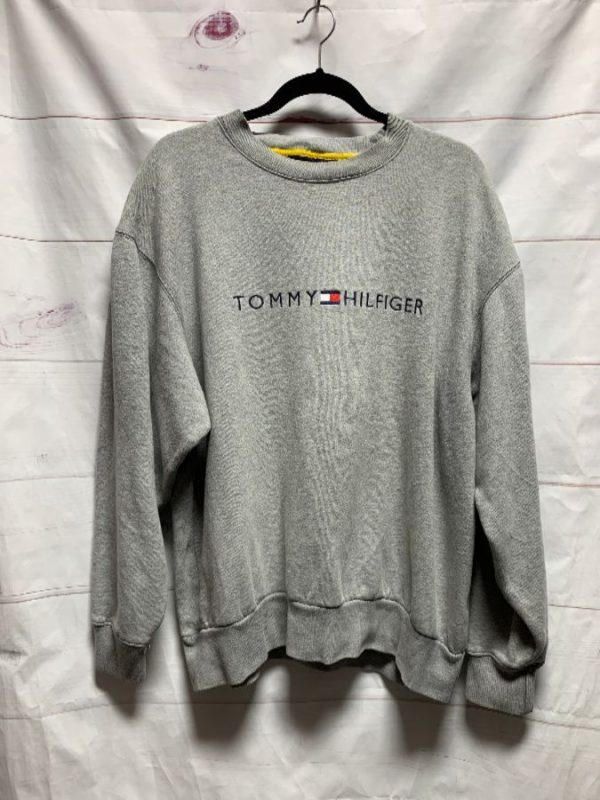 product details: TOMMY HILFIGER EMBROIDERED PULLOVER SWEATSHIRT photo