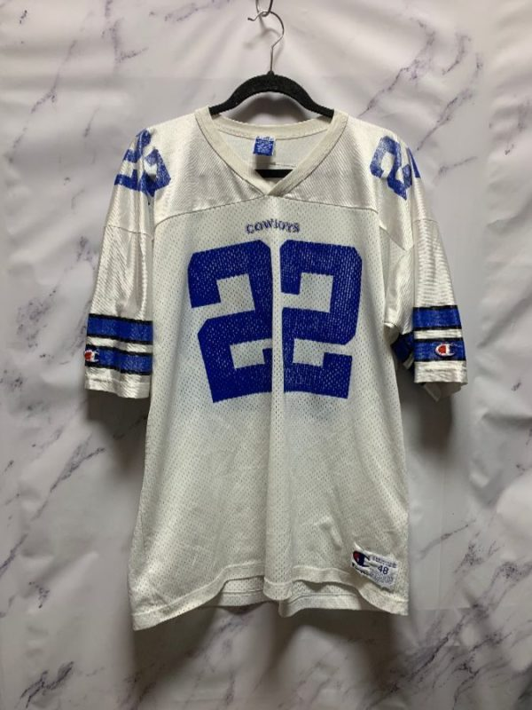 product details: NFL DALLAS COWBOYS #22 EMMIT SMITH AS-IS photo