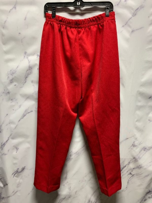 product details: RETRO RED SLACKS ELASTIC WAIST photo
