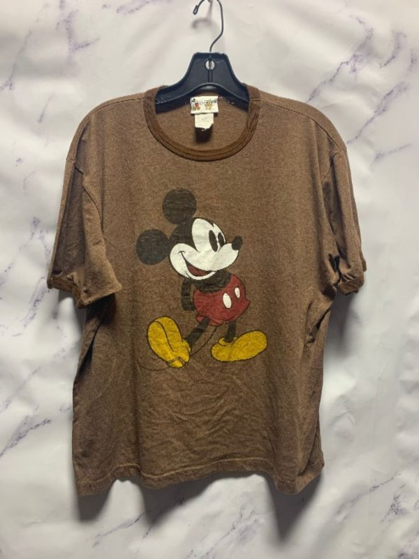 product details: DISNEY MICKEY MOUSE RINGER TEE GRAPHIC TSHIRT photo