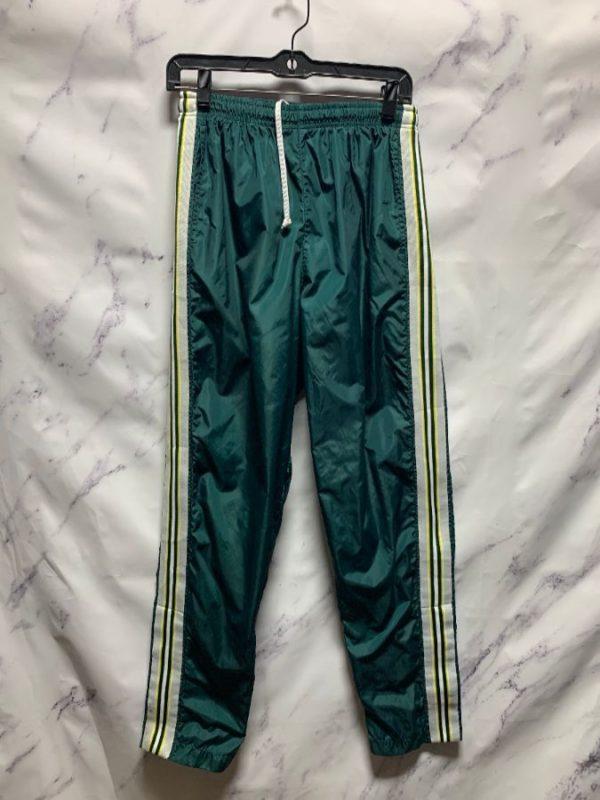 product details: NYLON OREGON DUCKS COLORS WARM UP PANTS STRIPE SIDES photo