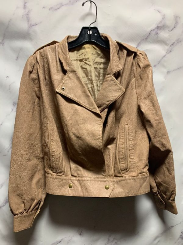 product details: 1980S SUPER SOFT CROPPED LEATHER JACKET W SATIN LINING AS-IS photo