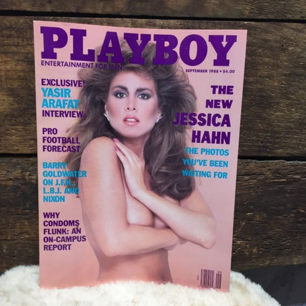product details: PLAYBOY MAGAZINE SEPTEMBER 1988 - JESSICA HAHN photo